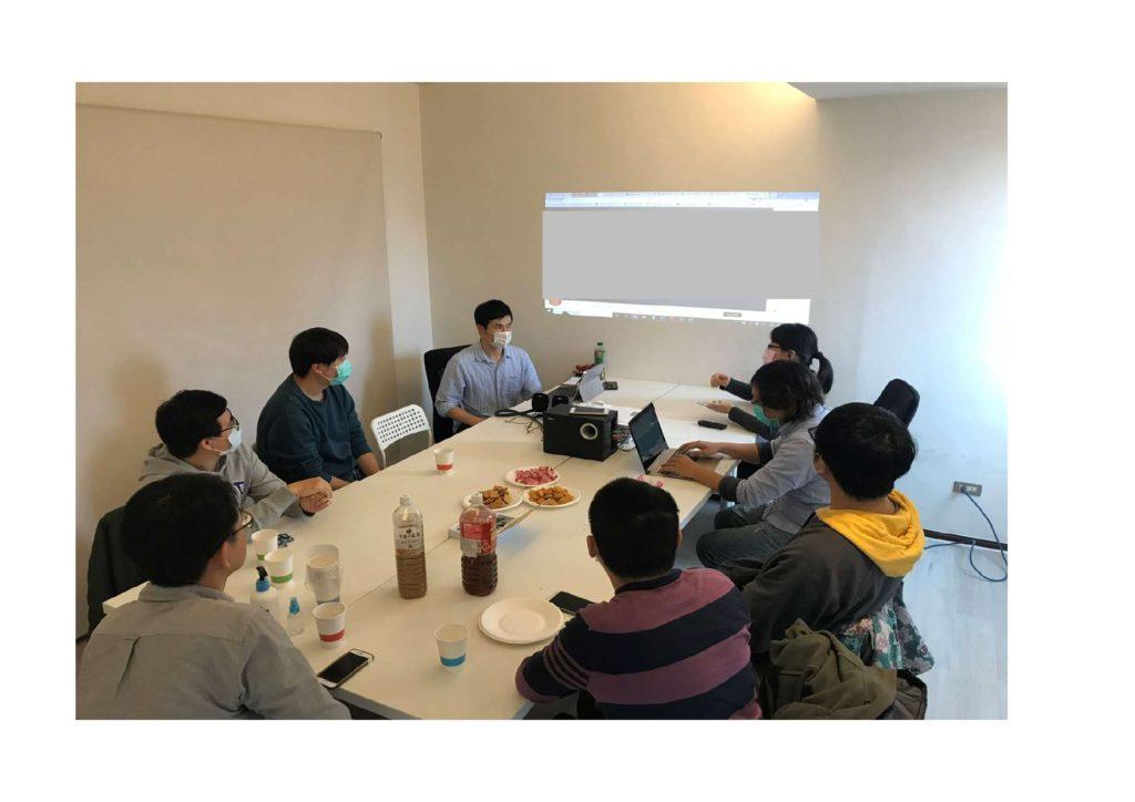 台湾でのグループインタビューの写真